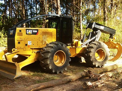 New Timber Skidder at Choctaw Land & Timber of Northwest Florida and South Alabama